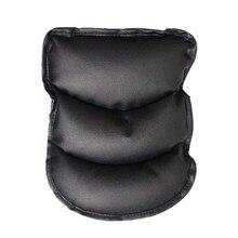 Полиуретановая Мягкая Кожаная подушка для центральной консоли автомобиля(11X8,6 дюймов) подушка-подлокотник для автомобильного автомобиля