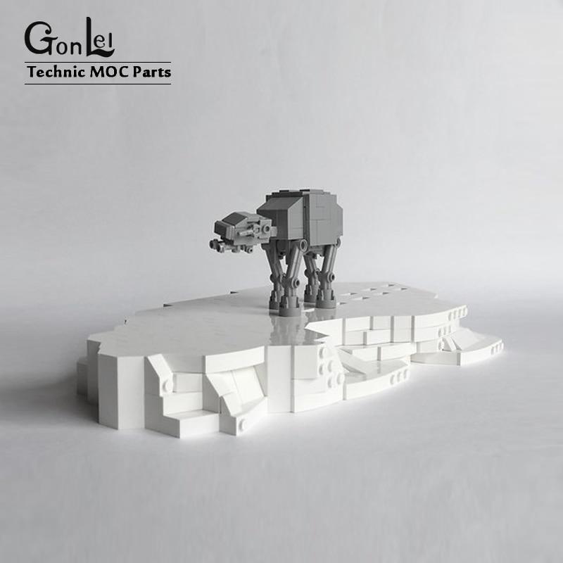 107 шт частей Звездные космические войны MOC  8089 крошечные моторизованные ходячие строительные блоки набор блоков, игрушки, модели детей, рождественские подарки|Блочные конструкторы|   | АлиЭкспресс
