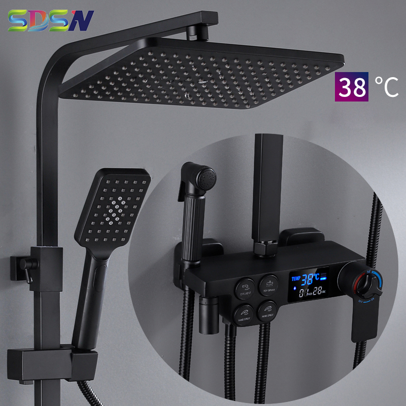 SDSN Digital Shower Set Bathroom ...
