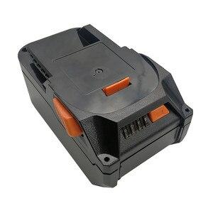 Чехол для литиевой батареи, защита для зарядки, светодиодный монтажный щит для AEG RIDGID 18 в 20 в, литиевые инструменты, корпус батареи, запасные ...