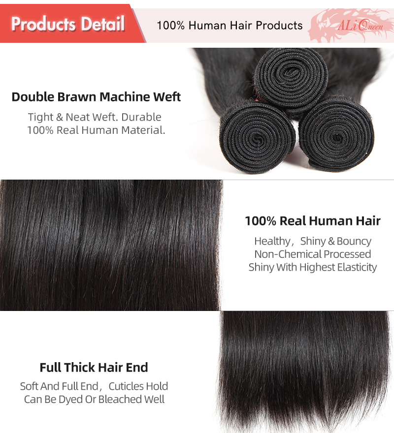 Malha de cabelo humano brasileiro, 1 3