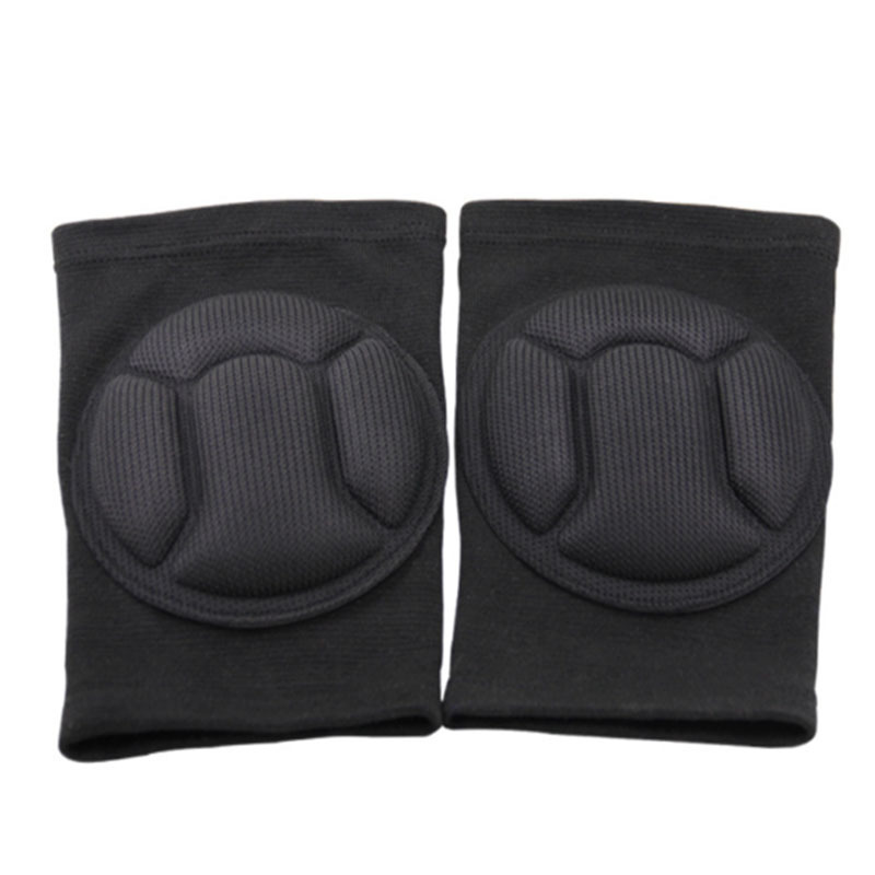LPRED Fully Adjustable 1 Pair Knee Pads with Protective Gear Useful for Gardening Sports and Bike Riding for Safety 2