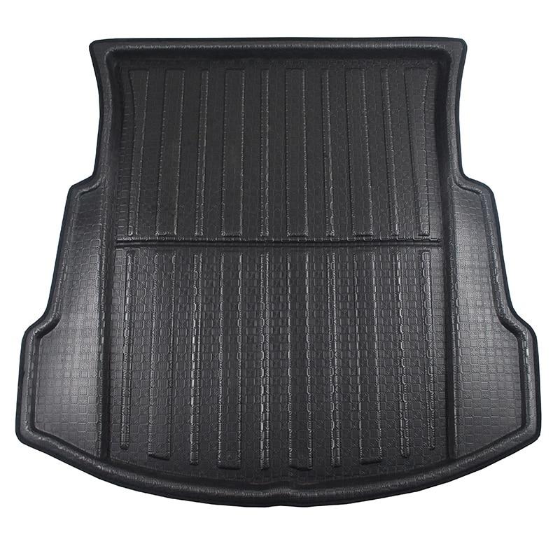 Car Rear Trunk Cargo Mat Tray Floor Boot Carpet For Tesla Model 3 2017-2019