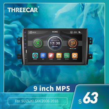 2Din 9'' Android gps MP5 Car Radio Tape Recorder Stereo WIFI Car dvd Player For Suzuki SX4 2006 2007 2008 2009 2010 2011 2012 image