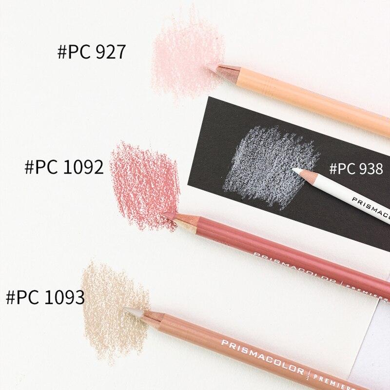 Arte Lápis de cor Profissional Oleosa Única Cor PRISMACOLOR PC927/938/1092/1093 Lápis de cor Desenho a Lápis de cor Suprimentos