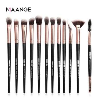 MAANGE 12 Eye Makeup Brush Set Beauty Tools Eye Shadow Brush Eyebrow Make up Brushes Professional Eyeshadow Brush 1