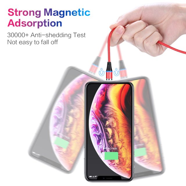 FLOVEME Magnetic Charger Micro Usb Cable For iphone Usb Type C Fast Charging Adapter Magnet Charger Wire For Samsung Xiaomi Cord 2