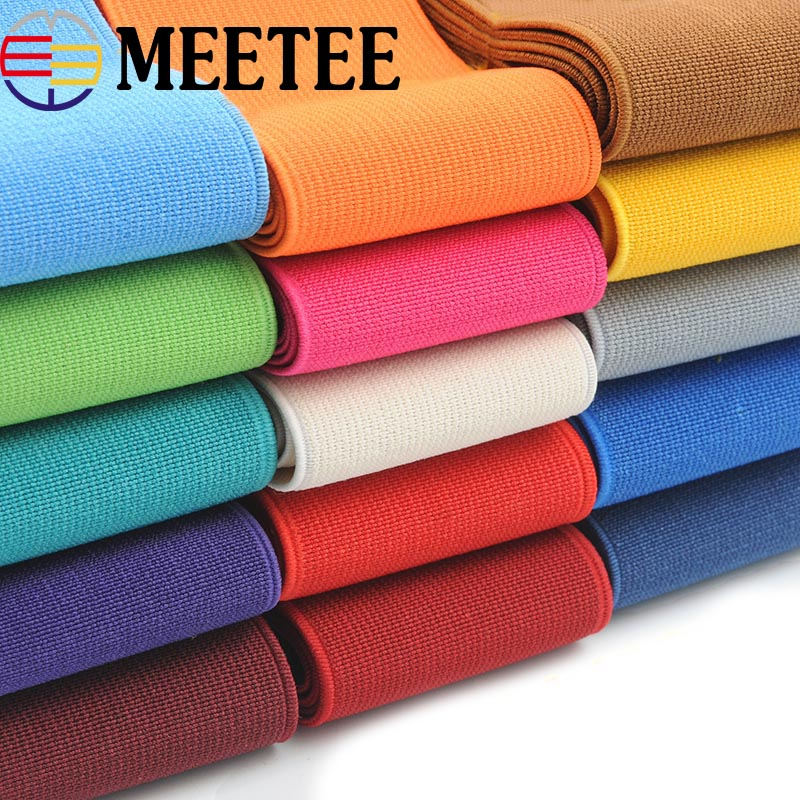 2/5/10meters Sewing Elastic Band Soft Skin Rubber Band Shoes Pants Decorative Elastic Webbing Tapes DIY Accessories KY487