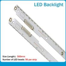 new 2 piece LED Backlight Lamp strip For UE40ES6530 UE40ES6800 UA40ES6100 2012SVS40 7032NNB 3D R2GE 400SMB R3 A BN96 21712A 711A