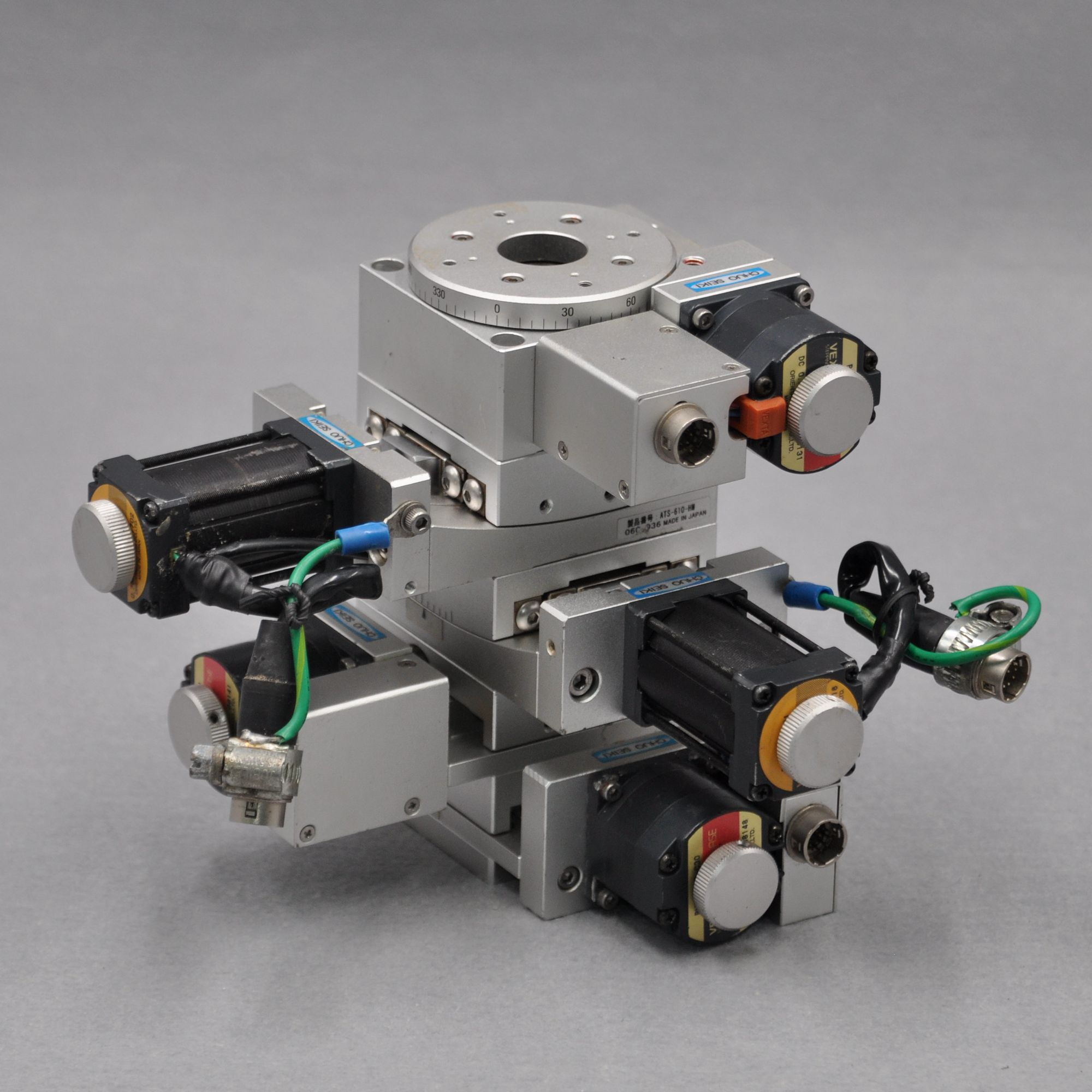 XY2UR Axis Five Axis CHUO ATS-610-HM MMU-60X-H1 Optical Electric High-precision Fine-tuning Slide