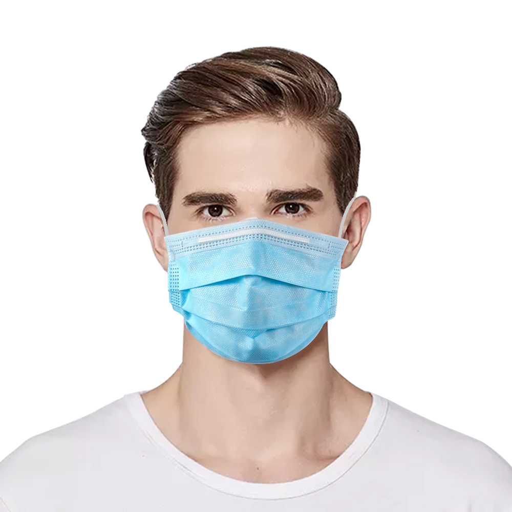 10/20/50/100pcs Disposable Anti Dust Mask Daily Protective Mask Anti Fog Dust-proof Non-woven Melt Blown Three-layer Mask
