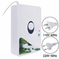 600mg gerador de ozônio purificador de ar ozonizador ozonizador ozono ozônio portátil oxigênio concentrador água purificação esterilização