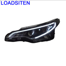 Exterior Assembly Cob Drl Styling Parts Neblineros Para Auto Led Car Lighting Headlights Front Fog Lights FOR Toyota Levin(China)