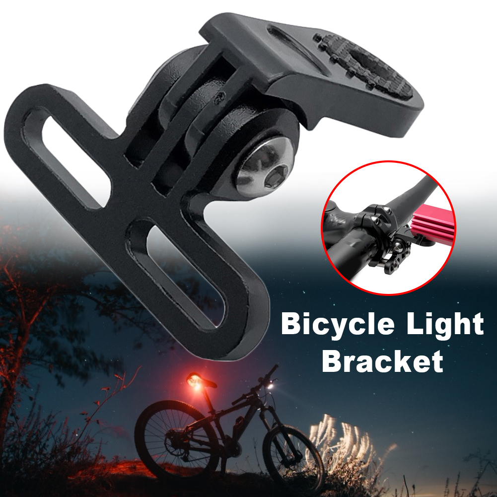 RockBros Bike Clip Light /& Pump Stand Rotatable Bicycle Bracket Double Holder