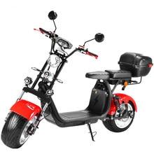 Porte expédition moscou entrepôt 3000w Citycoco avec 12 pouces en alliage d'aluminium roue 60v21AH moto électrique avec boîte de queue
