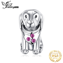 JewelryPalace Puppy Dog 925 Sterling Silver Beads Charms Original For Bracelet original Jewelry Making