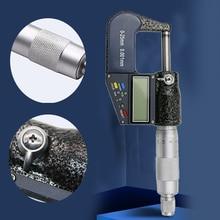 Точный Цифровой микрометр, многофункциональный, с ЖК-дисплеем, противоскользящий, с Тиковой отметкой, наружный измерительный инструмент, 0,001 мм, калибр штангенциркуля