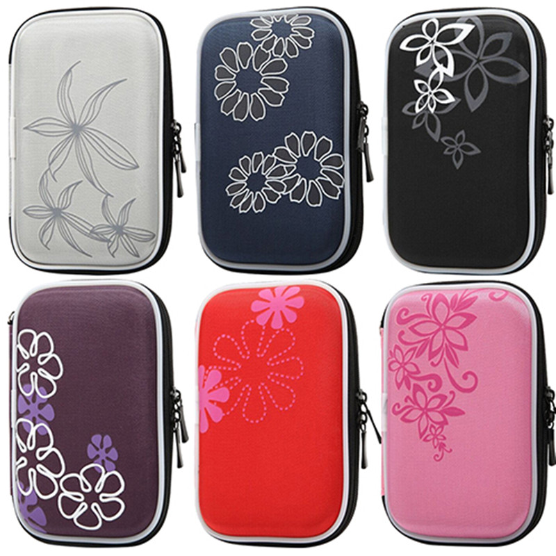 "2.5"" HDD Bag External USB Hard Drive Disk Pouch Earphone Bag Shockproof Usb Cable Case Cover For Headset Hard Disk Case коробка"