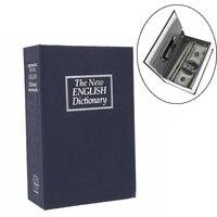 Мини безопасный словарик, коробка для книг, копилка для денег, секретный сейф для безопасности, замок для хранения наличных денег, монет, коп...