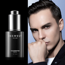 INSWEST 30ml Men's Oligopeptide Acne Cleaning Serum Acne Treatment Lotion Moistu