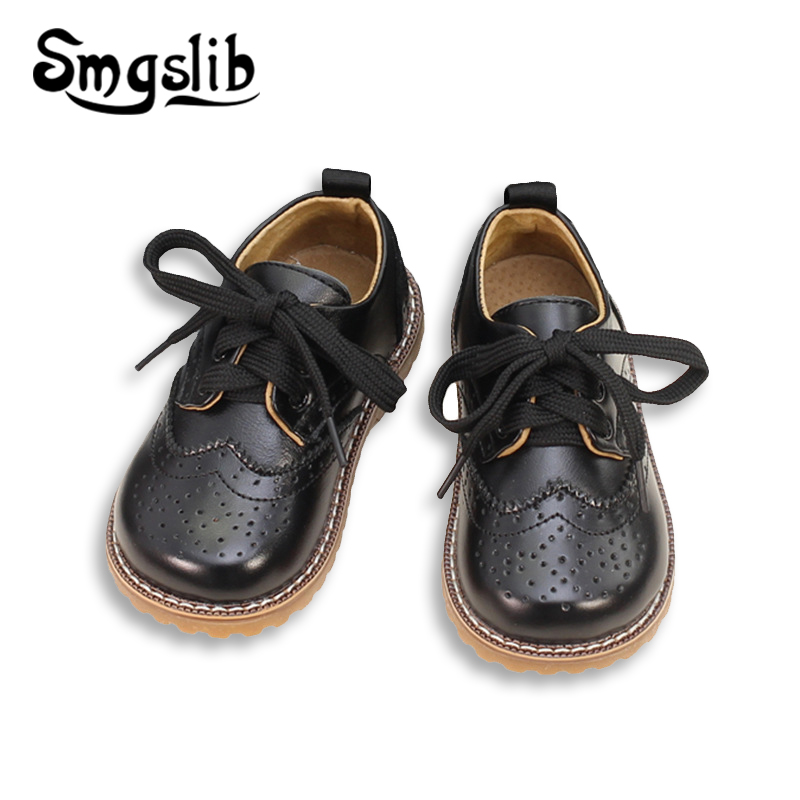 Girls Genuine Leather Shoes Child
