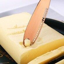 Нож из нержавеющей стали нож масло нож с отверстиями многоцелевой протирать крем нож Западный хлеб нож для джема многоцветный на выбор