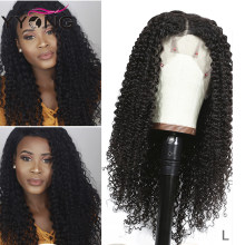Yyong 13x4 Brazilian Kinky Curly Human Hair Wigs Lace Front Human Hair Wigs Remy Lace Front Wigs For Black Women Low Ratio 120%(China)