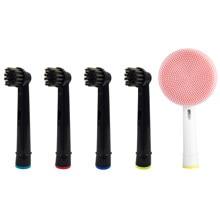 Cabezales de repuesto para cepillo de dientes Oral-B, cabezal de limpieza precisa, 3D, blanco, acción cruzada, cabezales de cepillo de dientes eléctrico sensibles