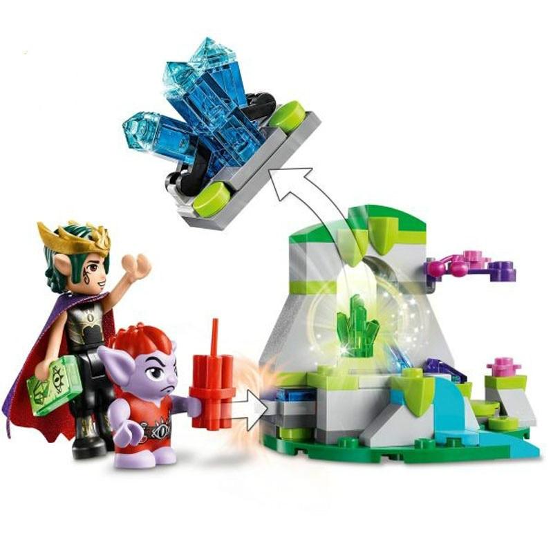10695 Fairy Friends 342pcs The Goblin King/'s Evil Dragon Building Bricks Blocks
