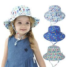 Детская шапка для девочек летний солнцезащитный козырек отдыха