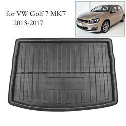 PE + EVA пенопластовый автомобильный напольный коврик для багажника, поднос для ковров для VW Jetta Sedan Tiguan Golf 6 7 MK7 Polo