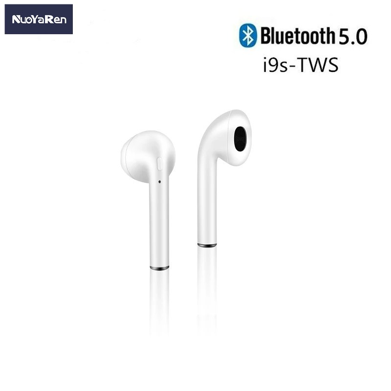 i9s TWS Bluetooth Wireless Headphones Mini Earphones Stereo Sound Earbuds Sport Portable Music Headsets Charging Box For Xiaomi