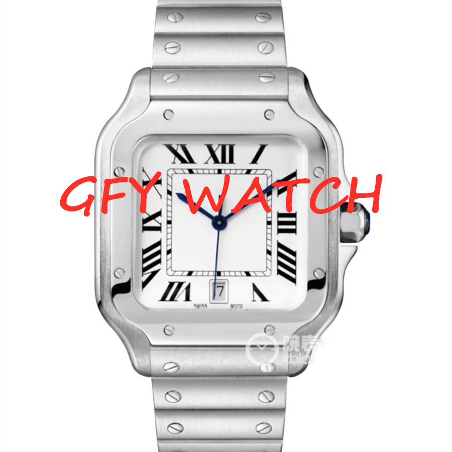 Men's Automatic Mechanical Watch 40mm SS WSSA0009  1: 1 Best Edition White Dial On SS SmartLinks Bracelet MIYOTA 9015