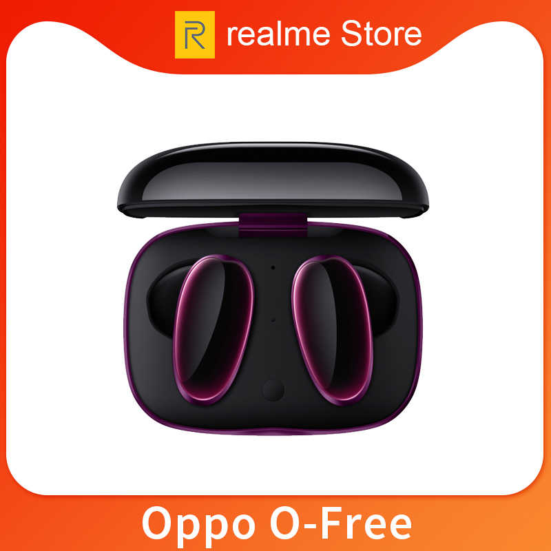 Global Version Oppo O Free Wireless Buds Earphone Bluetooth Lightweight Ai Noise Cancelling Sports Headset Bluetooth Earphones Headphones Aliexpress