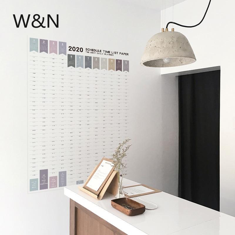 Органайзер для ежедневного обучения, большой бумажный органайзер для офиса и школы, 2020