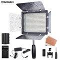 YONGNUO YN300 III 5500K 300 светодиодный светильник на камеру светильник ing для свадьбы YN300III светодиодный панельный светильник с NP-F750 зарядным устройст...