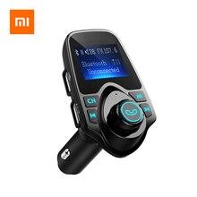 Xiaomi T11 Draadloze Bluetooth Fm zender Handsfree Car Kit MP3 Speler Draadloze Bluetooth Adapter Met Dual Usb poort Auto Kit