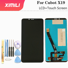 5.93 inch Original 100% For Cubot X19 LCD Display with Touch Screen Digitizer Assembly For Cubot X19