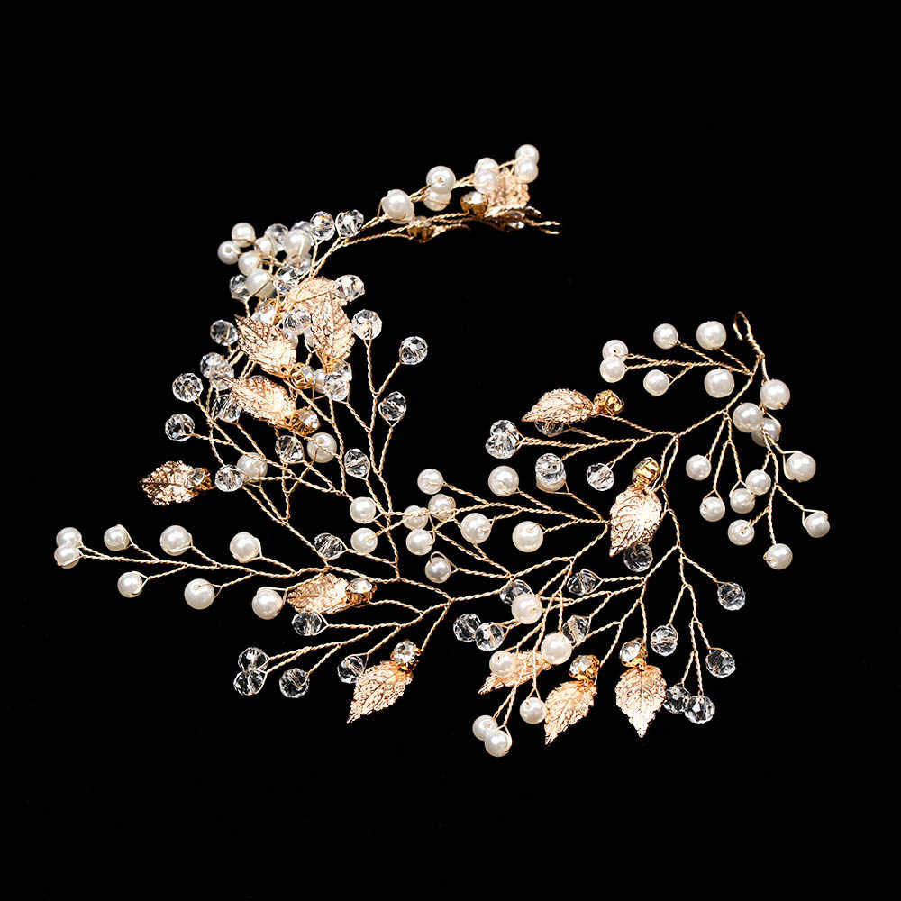 Peineta para novia Clip diadema accesorios para el cabello de boda Rhinestone flor Accesorios nupciales para el cabello Tiara diadema cabeza joyería