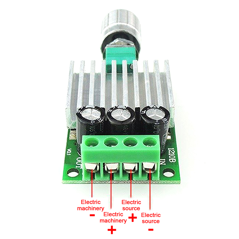 pwm dc regulador de velocidade ajustavel dimmer 02