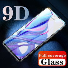 9D Full Cover Tempered glass For Huawei Honor 8X 8C View 20 Magic 2 Glass Y9 2018 Protector huawei P Smart Plus 2019