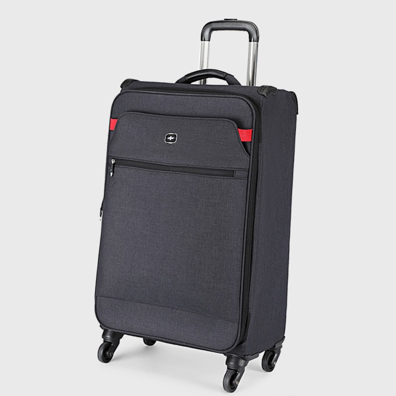 Light-weight 20 Inch Waterproof Oxford Rolling Luggage Spinner Women/Men Brand Suitcase Wheels Stripe Carry On TSA Travel Bags