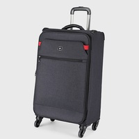 Light weight 20 inch Waterproof Oxford Rolling Luggage Spinner Women/Men Brand Suitcase Wheels Stripe Carry On TSA Travel Bags