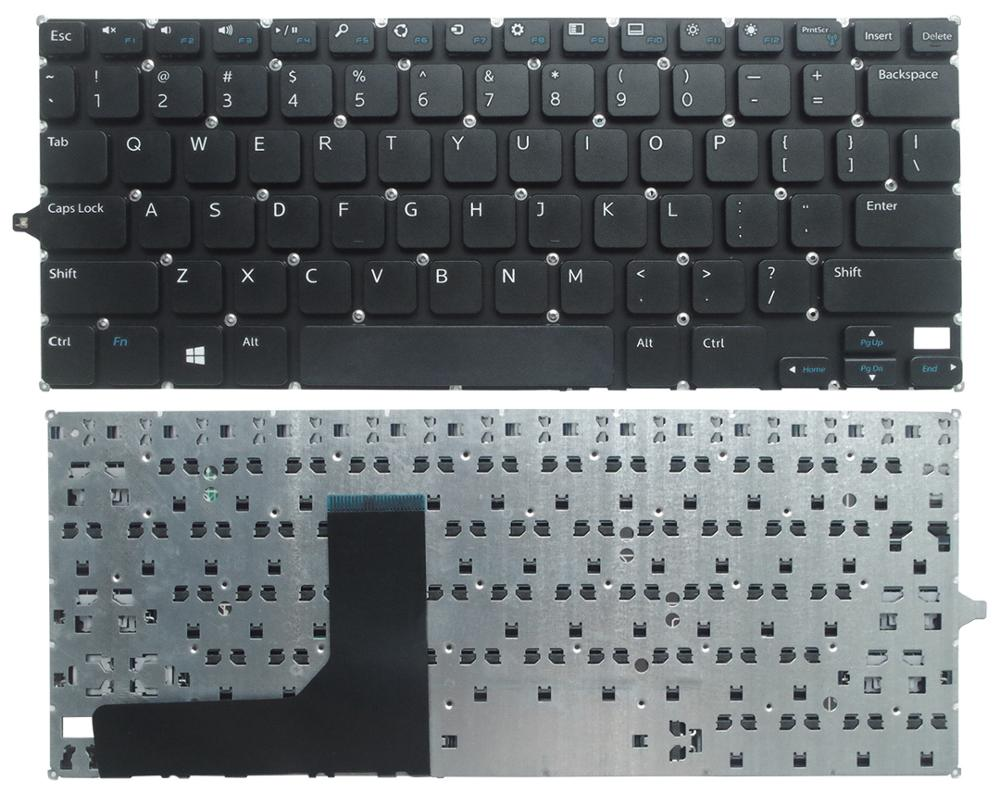 SSEA New laptop US black Keyboard For <font><b>DELL</b></font> Inspiron 11 3000 3147 11 3148 3138 <font><b>P20T</b></font> 3152 3153 3157 3158 image