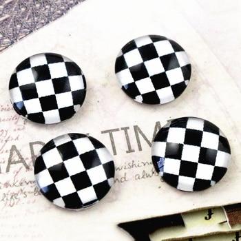 New Fashion  20pcs 12mm Handmade Photo Glass Cabochons  (E2-37) 1