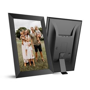 Image 5 - A10 WiFi 10.1 بوصة إطار الصورة الرقمية 1280x800 IPS شاشة تعمل باللمس 16 جيجابايت الذكية إطار صور APP التحكم مع حامل للانفصال
