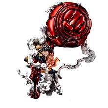 Изысканное качество одна деталь GK Обезьяна D Луффи шестерни 4 негабаритных 50 см ПВХ аниме фигурка Модель Коллекция рабочего стола украшения