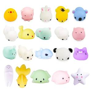 Squishy Animal Toy Mochi Squeeze Antistress Cute Abreact-Ball Sticky Rising Funny Soft