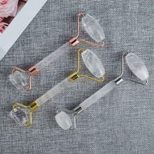 Face Roller Natural Rock Quartz Crystal Massager Facial Anti Cellulite Wrinkle Sliming Beau