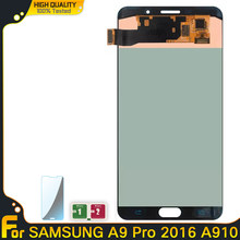 OLED A9 Lcd Screen For SAMSUNG GALAXY A9 Pro LCD 2016 A910 A9100 A910F/DS Display Touch Screen Digitizer Replacement Parts